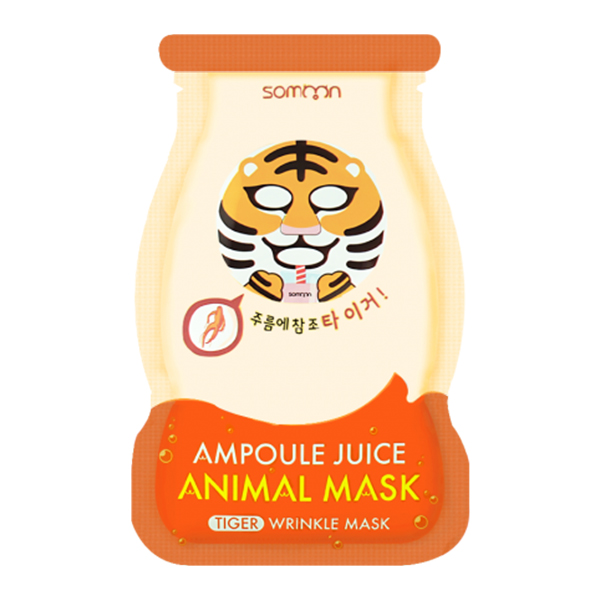 Scinic Somoon Ampoule Juice Tiger Animal Mask