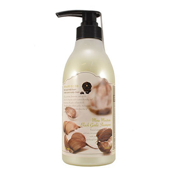 Somang Clinic More Moisture Black Garlic Shampoo