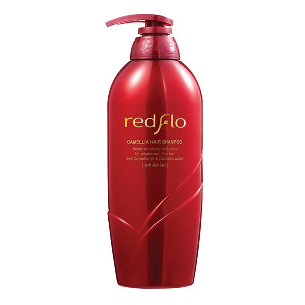 Ухаживающий шампунь с маслом камелии Somang Redflo Camellia Hair Shampoo