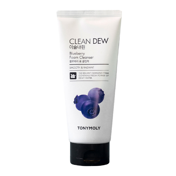Tony Moly Clean Dew Blueberry Foam Cleanser