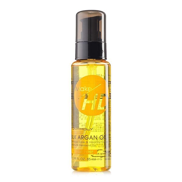 Органическое масло арганы для волос, 85мл  Tony Moly Make HD Silk Argan Oil