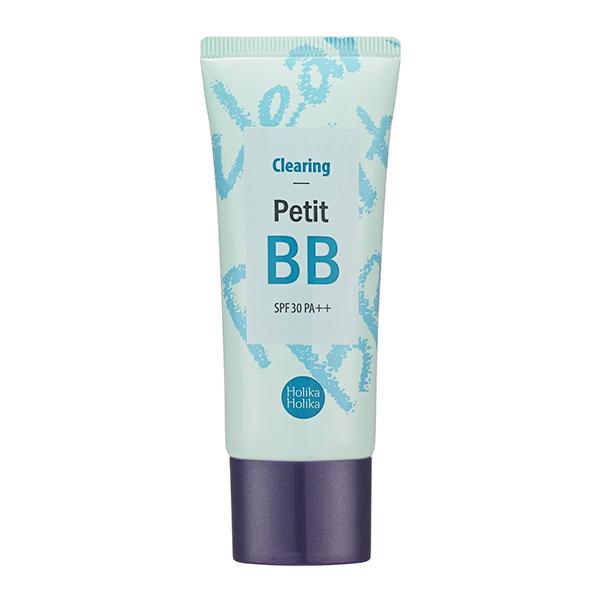 ББ крем для проблемной кожи с экстрактом чайного дерева Holika Holika Clearing Petit BB Cream