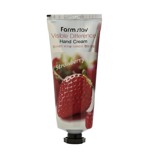 FarmStay Visible Difference Hand Cream Strawberry