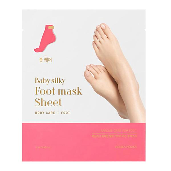 "Смягчающая маска для ног ""Бэйби Силки"" Holika Holika Baby Silky Foot Mask Sheet"