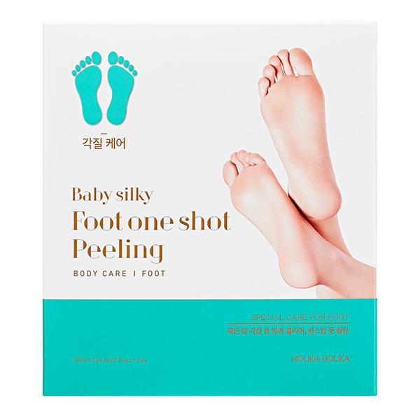 Пилинг-носочки для ног  Holika Holika Baby Silky Foot One Shot Peeling