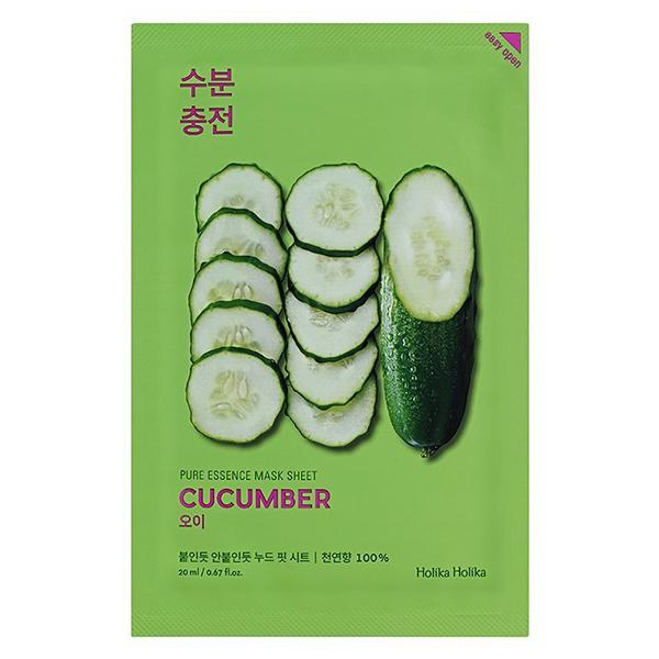 Тканевая маска для лица Holika Holika Pure Essence Mask Sheet Cucumber