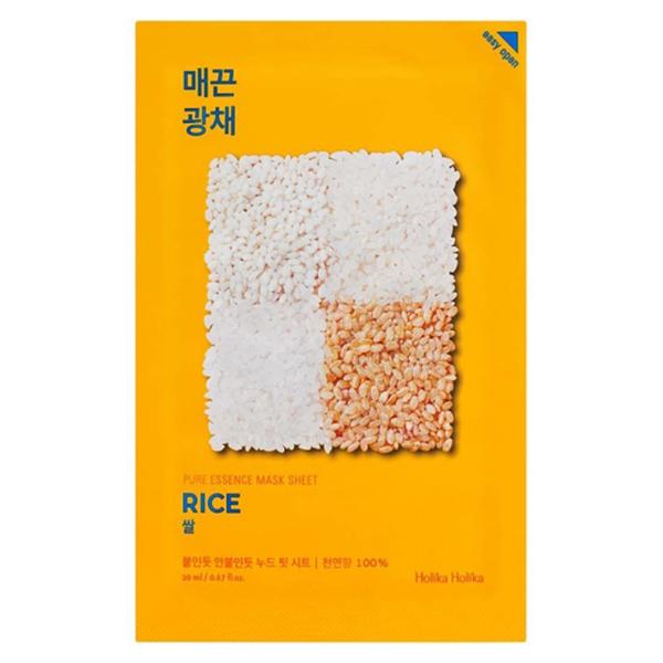 Тканевая маска с рисом Holika Holika Pure Essence Mask Sheet Rice