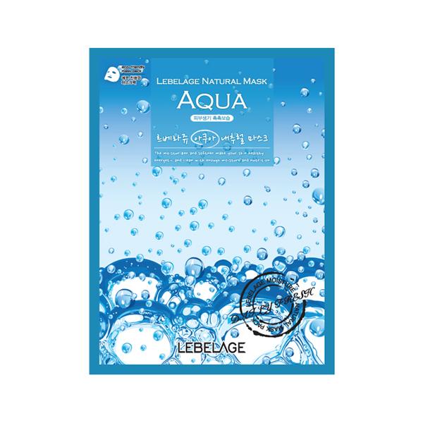 Тканевая маска с морской водой Lebelage Aqua Natural Mask