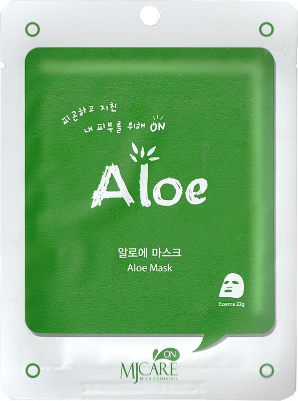Тканевая маска с алоэ MJ Care Mask Aloe