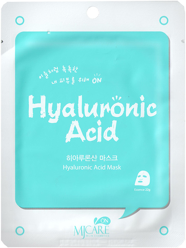 Тканевая маска для лица с гиалуроновой кислотой  MJ Care Mask Hyaluronic Acid