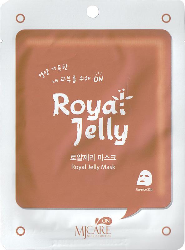 Тканевая маска с маточным молочком MJ Care Mask Royal Jelly