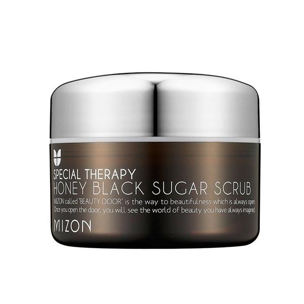 Медовый скраб с натуральным черным сахаром Mizon Honey Black Sugar Scrub