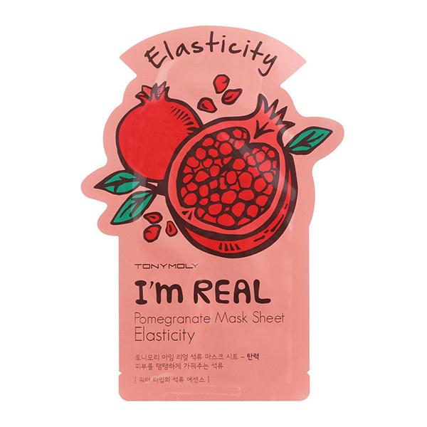 Тканевая маска с гранатом Tony Moly I'm Real Pomegranate Mask Sheet