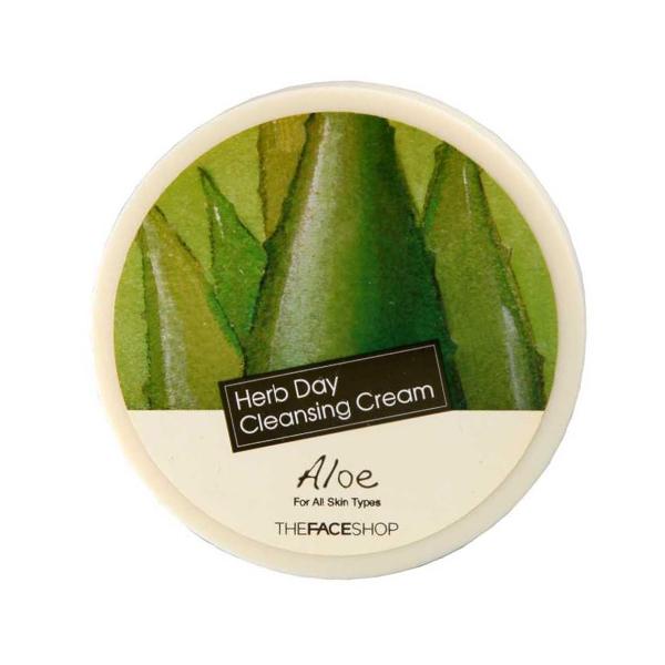 Ежедневный очищающий крем с растительными экстрактами The Face Shop Herb Day Cleansing Cream