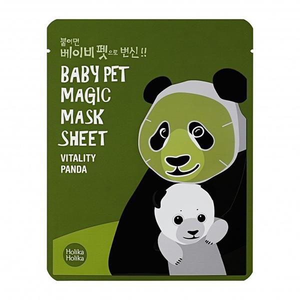 Тонизирующая тканевая маска Holika Holika Baby Pet Magic Mask Sheet Vitality Panda