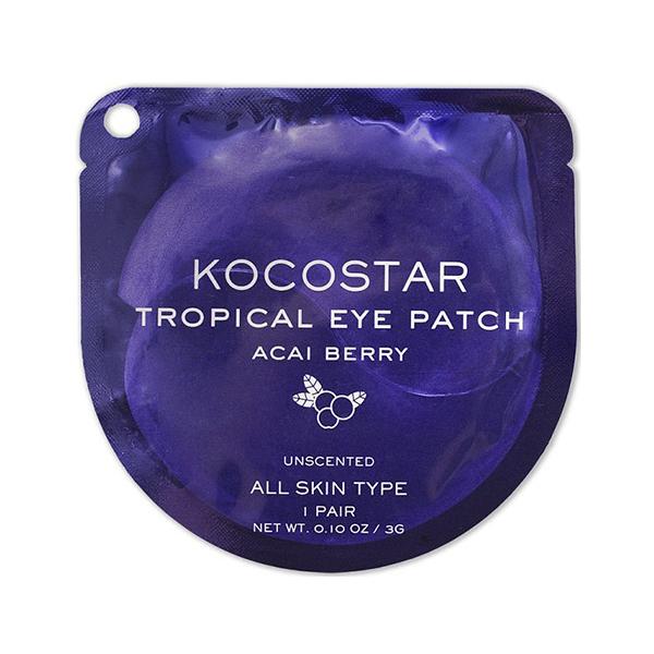 """Гидрогелевые патчи для глаз """"Тропические фрукты"""" Kocostar Tropical Eye Patch Single"""