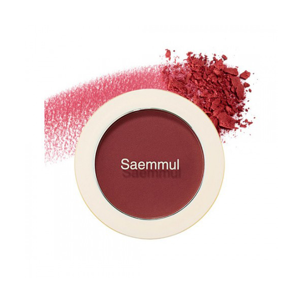 Румяна-Бронзер The Saem Saemmul Single Blusher Dry Rose (AD)