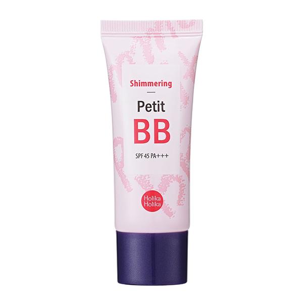 ББ крем с жемчужной пудрой Holika Holika Shimmering Petit BB Cream