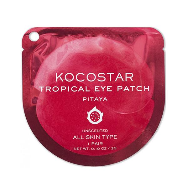 """Гидрогелевые патчи для глаз """"Тропические фрукты"""" Kocostar Tropical Eye Patch Pitaya Single"""