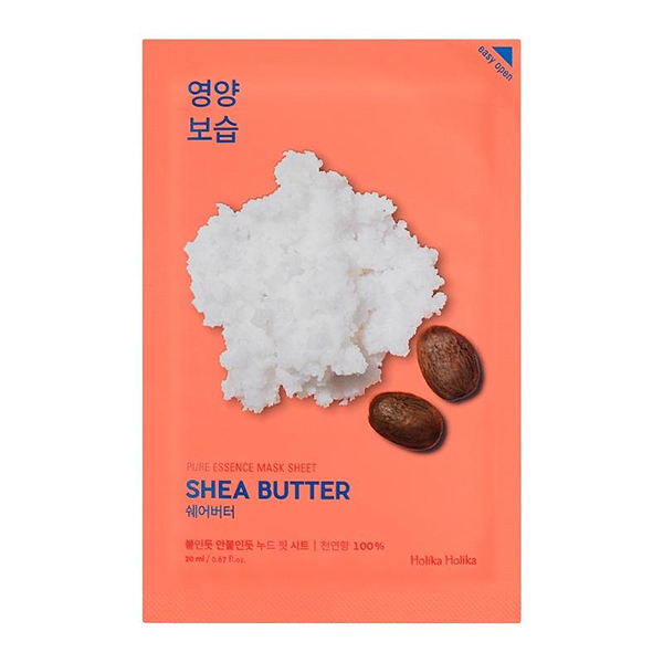 Тканевая маска с маслом ши  Holika Holika Pure Essence Mask Sheet Shea Butter