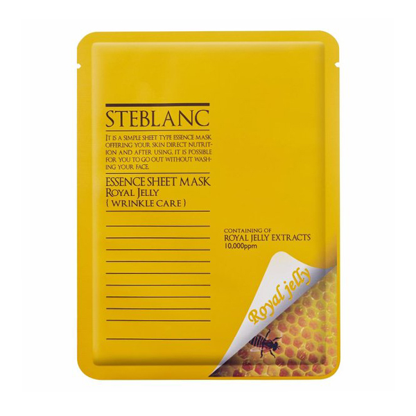 Тканевая маска Steblanc Essence Royal Jelly Sheet Mask