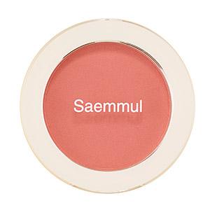 Румяна-Бронзер The Saem Saemmul Single Blusher Sunshine Coral (AD)