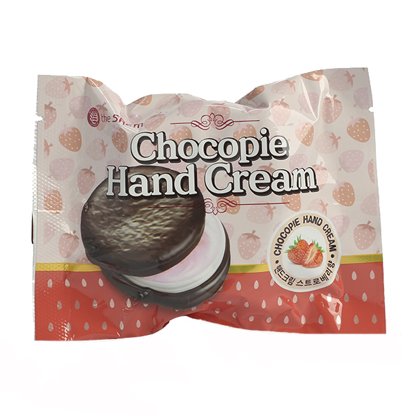 Крем для рук с экстрактом клубники The Saem Chocopie Strawberry Hand Cream
