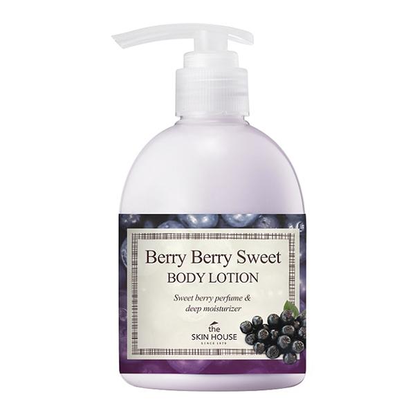 Лосьон для тела с ягодами асаи The Skin House Berry Berry Sweet Body Lotion