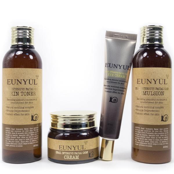 Eunyul Snail Intensive Facial Care Skin Care Set