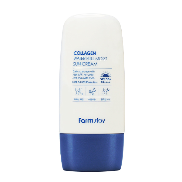 Farmstay Collagen Water Full Moist Sun Cream SPF50+/PA++++