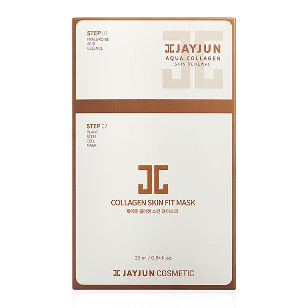 Двухэтапная маска для придания упругости  JAYJUN 2 Step Collagen Skin Fit