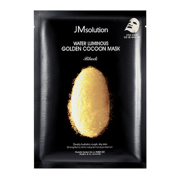 JMSolution Water Luminous Golden Cocoon Mask Black