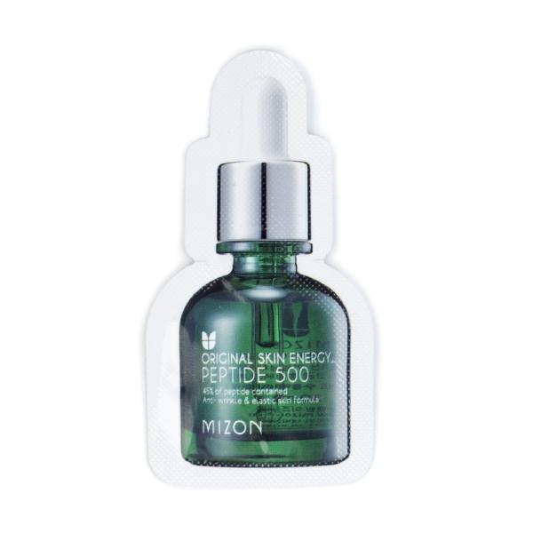 Пептидная сыворотка для увядающей кожи  Пробник Mizon Peptide 500 Serum