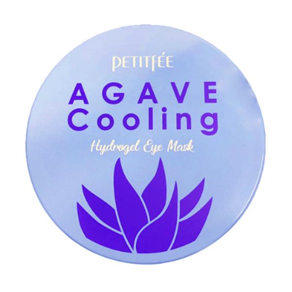 Гидрогелевые патчи с голубой агавой Petitfee Agave Cooling Hydrogel Eye Mask Patch