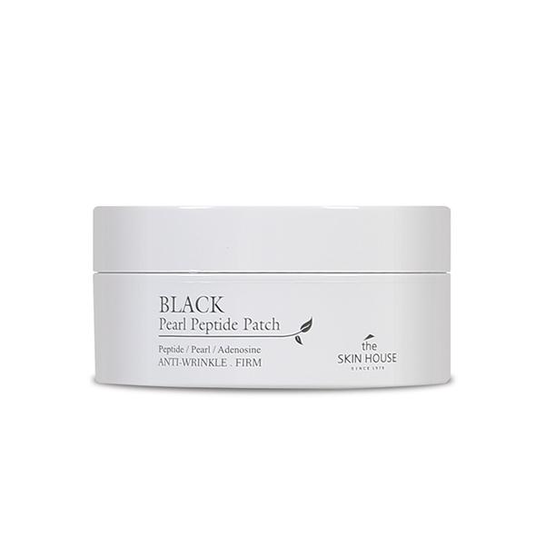 Укрепляющие патчи для глаз с пептидами и экстрактом жемчуга The Skin House Black Pearl Peptide Patch