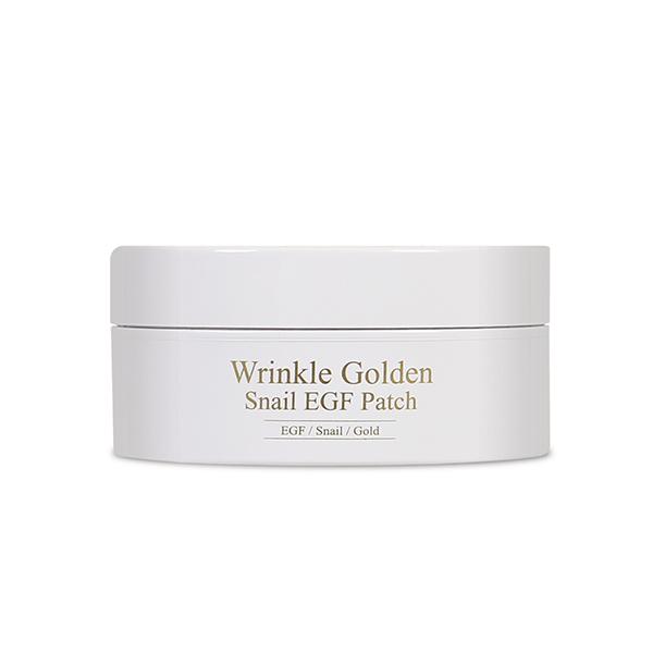 Гидрогелевые патчи для глаз с муцином улитки, золотом и EGF  The Skin House Wrinkle Golden Snail EGF Patch