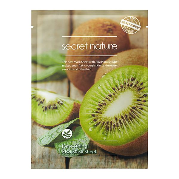 Тканевая маска для лица с киви Secret Nature Kiwi Mask Sheet