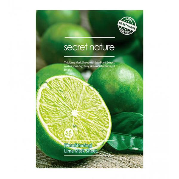Тканевая маска для лица с лаймом Secret Nature Lime Mask Sheet