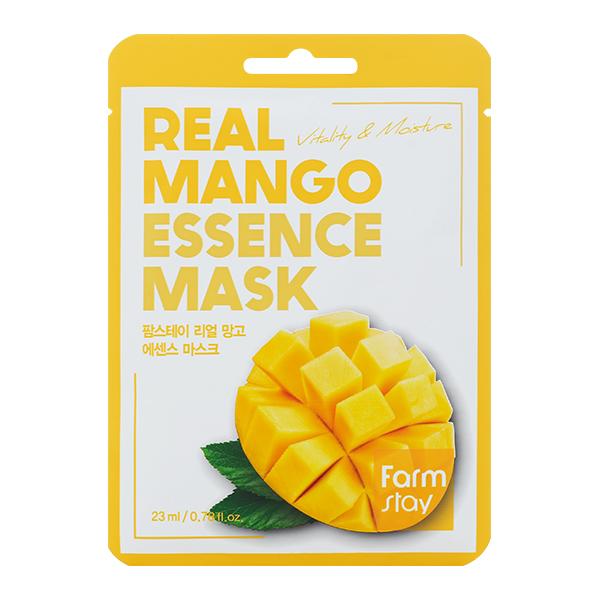 Тканевая маска с манго FarmStay Real Mango Essence Mask