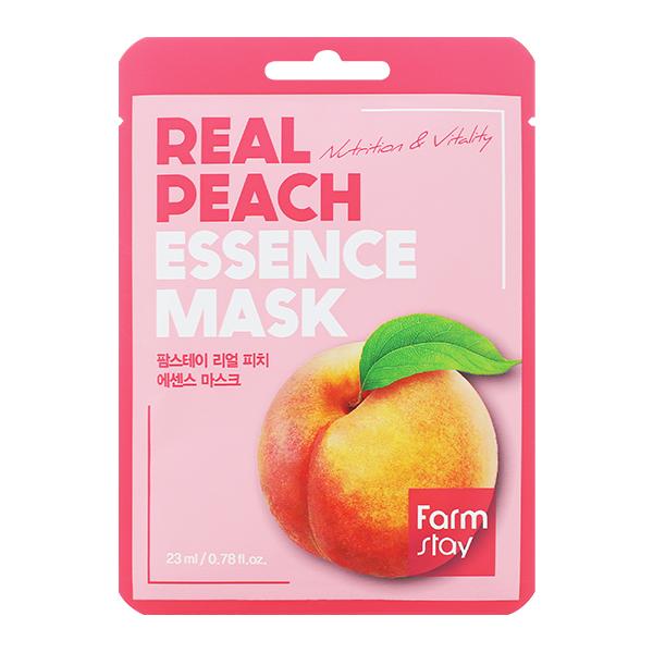 Тканевая маска с персиком FarmStay Real Peach Essence Mask