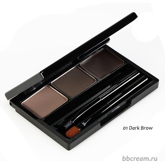 Набор теней для бровей Holika Holika Wonder Drawing Eyebrow Kit