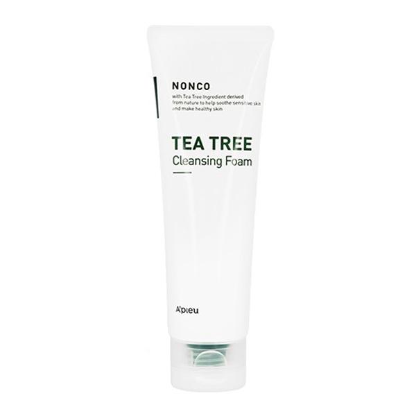 Очищающая пенка с экстрактом чайного дерева A'PIEU Nonco Tea Tree Cleansing Foam