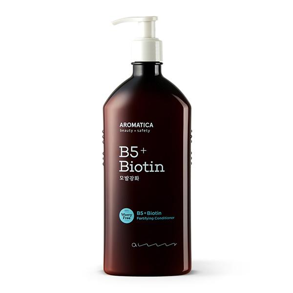 Укрепляющий кондиционер с витамином В5 и биотином Aromatica B5+Biotin Fortifying Conditioner