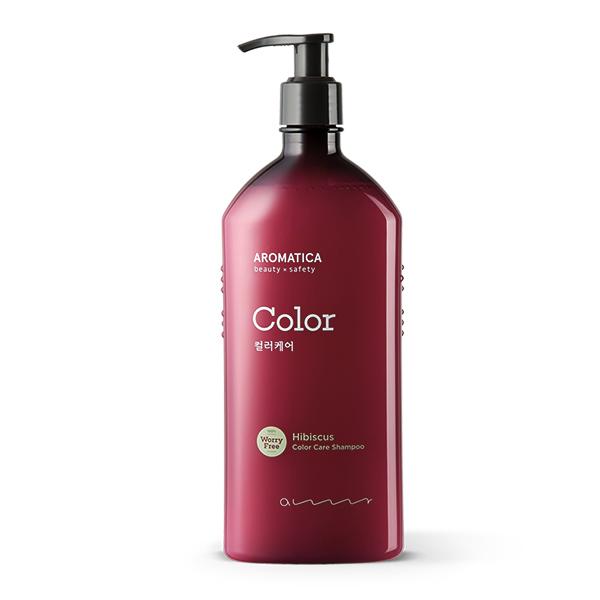 Шампунь для окрашенных волос с гибискусом Aromatica Hibiscus Color Care Shampoo