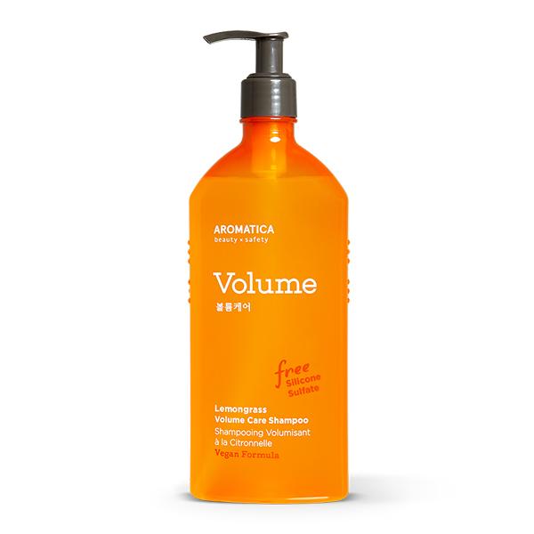 Шампунь для объёма с лемонграссом AROMATICA Lemongrass Volumizing Shampoo