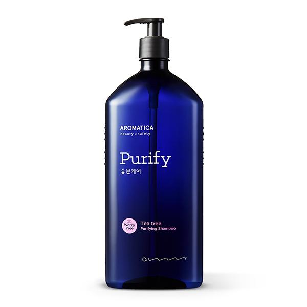 Шампунь для жирных волос с маслом чайного дерева Aromatica Tea Tree Purifying Shampoo