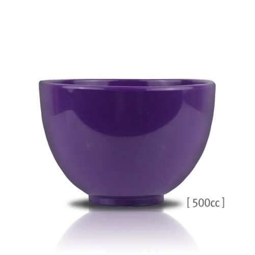 Чаша для комфортного смешивания альгинатной маски Anskin Rubber Ball (Purple)