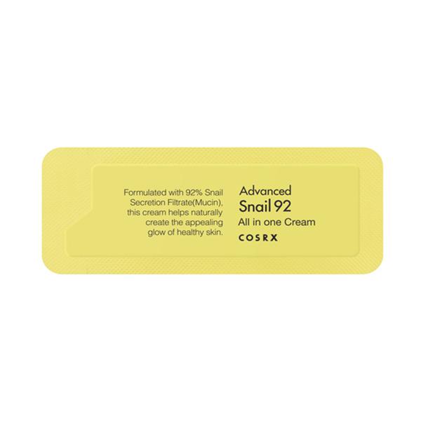 Универсальный крем с экстрактом улитки Пробник Cosrx Advanced Snail 92 All In One Cream