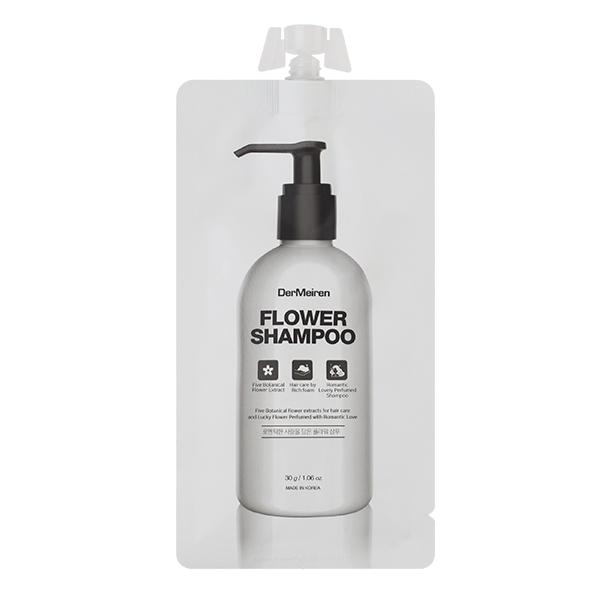 Мягкий шампунь для всех типов волос DerMeiren Flower Shampoo