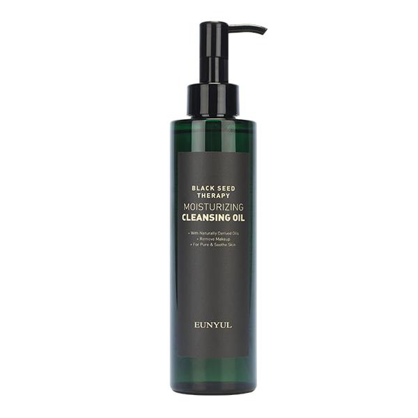 Гидрофильное масло для увядающей кожи EUNYUL Black Seed Therapy Moisturizing Cleansing Oil